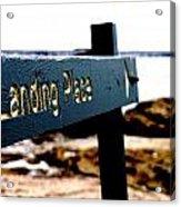 Captain Cooks Landing Place Acrylic Print