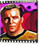 Captain James T Kirk Acrylic Print