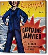 Captain January Aka Capitaine Janvier Acrylic Print