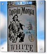 Captain Morgan White Rum Acrylic Print