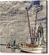 Captain Phillips Acrylic Print by Benanne Stiens