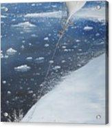 Captain Scott Antarcticas First Aeronaut Acrylic Print