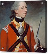 Captain Thomas Hewitt, 10th Regiment Acrylic Print by William Tate