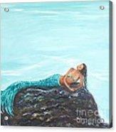 Captivating Mermaid Acrylic Print