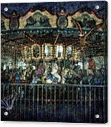 Captive On The Carousel Of Time Acrylic Print