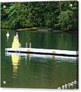 Capturing Graduation At The Lake Acrylic Print