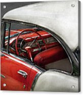 Car - Classic 50's  Acrylic Print by Mike Savad