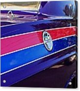 Car Colors Acrylic Print