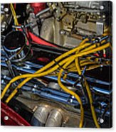 Car Engine Acrylic Print
