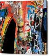 Car Of Many Colors Acrylic Print