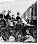 Car Race, 1908 Acrylic Print
