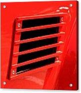 Car Reflection 10 Acrylic Print