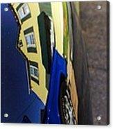 Car Reflection 6 Acrylic Print