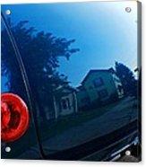 Car Reflection 8 Acrylic Print