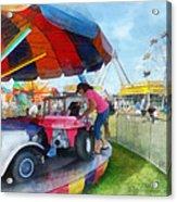 Car Ride At The Fair Acrylic Print