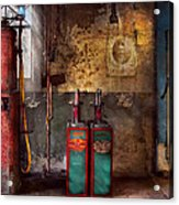Car - Station - Gas Pumps Acrylic Print