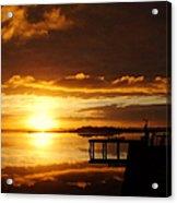 Caramel Skies Acrylic Print