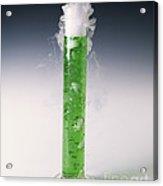 Carbon Dioxide Gas Acrylic Print by Martyn F. Chillmaid