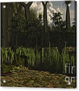 Carboniferous Forest Of The Eastern Acrylic Print