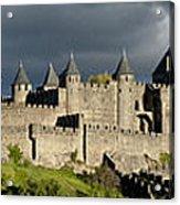 Carcassonne Panorama Acrylic Print