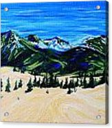 Carcross Desert Acrylic Print