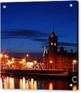 Cardiff Bay Acrylic Print
