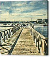 Cardiff Bay Wetlands 2 Acrylic Print