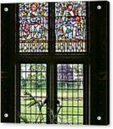 Cardiff Castle Window 8355 Acrylic Print