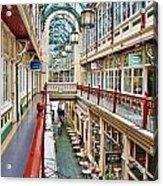 Cardiff Wyndham Arcade 8278 Acrylic Print