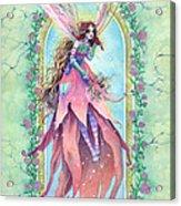 Cardinal Fairy Acrylic Print