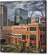 Cardinals Nation Ballpark Village Dsc06175 Acrylic Print