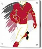 Cardinals Shadow Player2 Acrylic Print