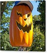 Carefree Scarecrow Acrylic Print