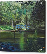 Carey's Pond Acrylic Print