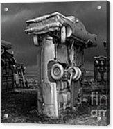 Carhenge 3 Acrylic Print