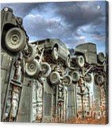 Carhenge Automobile Art Acrylic Print