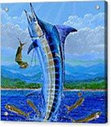 Caribbean Blue Off0041 Acrylic Print
