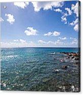 Caribbean Blue Acrylic Print