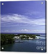 Caribbean Breeze Five Acrylic Print