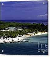 Caribbean Breeze Ten Acrylic Print