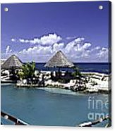 Caribbean Breeze Three Acrylic Print