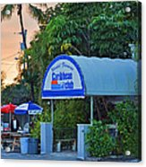 Caribbean Club Key Largo Acrylic Print
