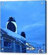 Caribbean Cruise - On Board Ship - 1212100 Acrylic Print