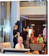 Caribbean Cruise - On Board Ship - 1212115 Acrylic Print