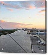 Caribbean Cruise - On Board Ship - 121212 Acrylic Print