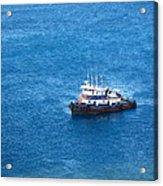 Caribbean Cruise - On Board Ship - 1212137 Acrylic Print