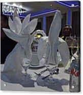Caribbean Cruise - On Board Ship - 1212139 Acrylic Print
