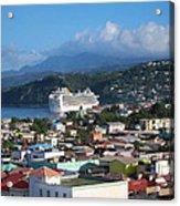 Caribbean Cruise - On Board Ship - 1212147 Acrylic Print