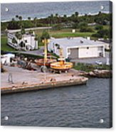 Caribbean Cruise - On Board Ship - 121215 Acrylic Print