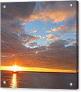 Caribbean Cruise - On Board Ship - 1212176 Acrylic Print